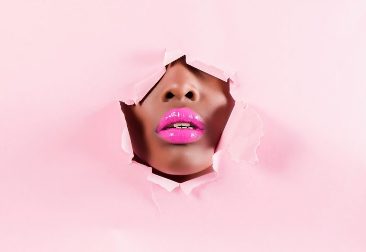 Make your lips pink